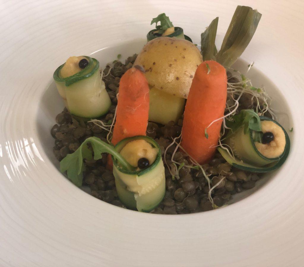 Végétarien, Restaurant Bel'Espérance, Genève