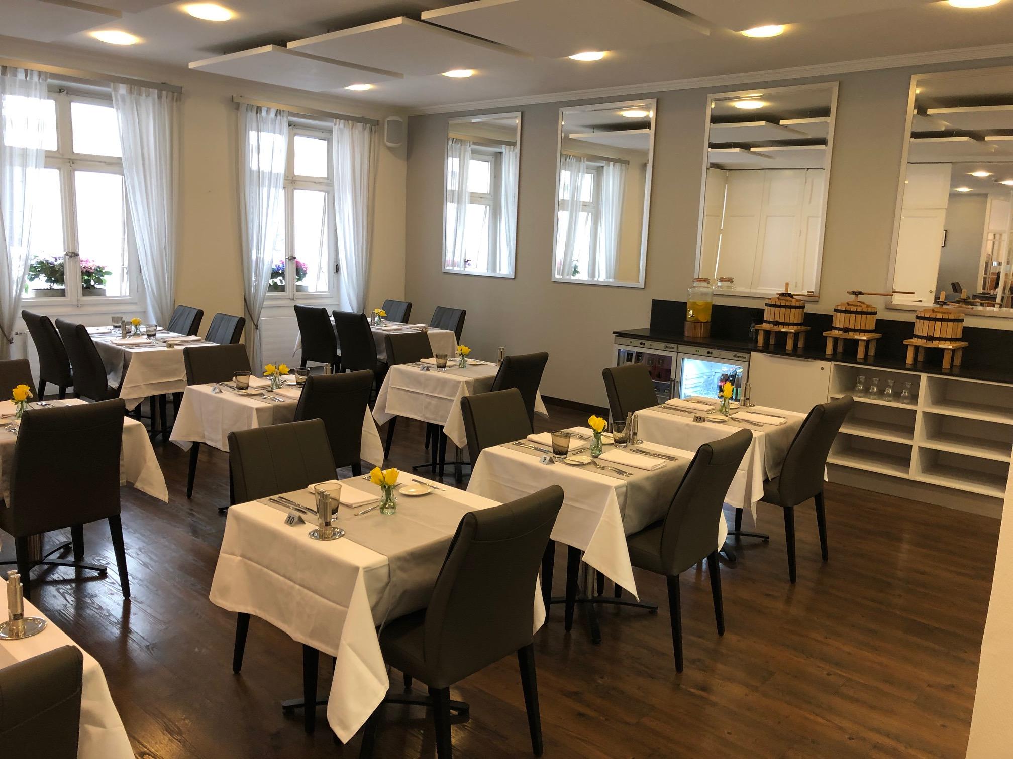 Salle du restaurant Bel'Eperance
